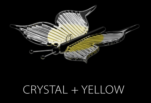 PAPILLON (CRYSTAL + YELLOW)