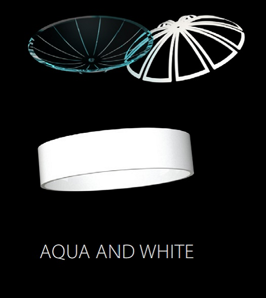 LUMINIS (AQUA AND WHITE)