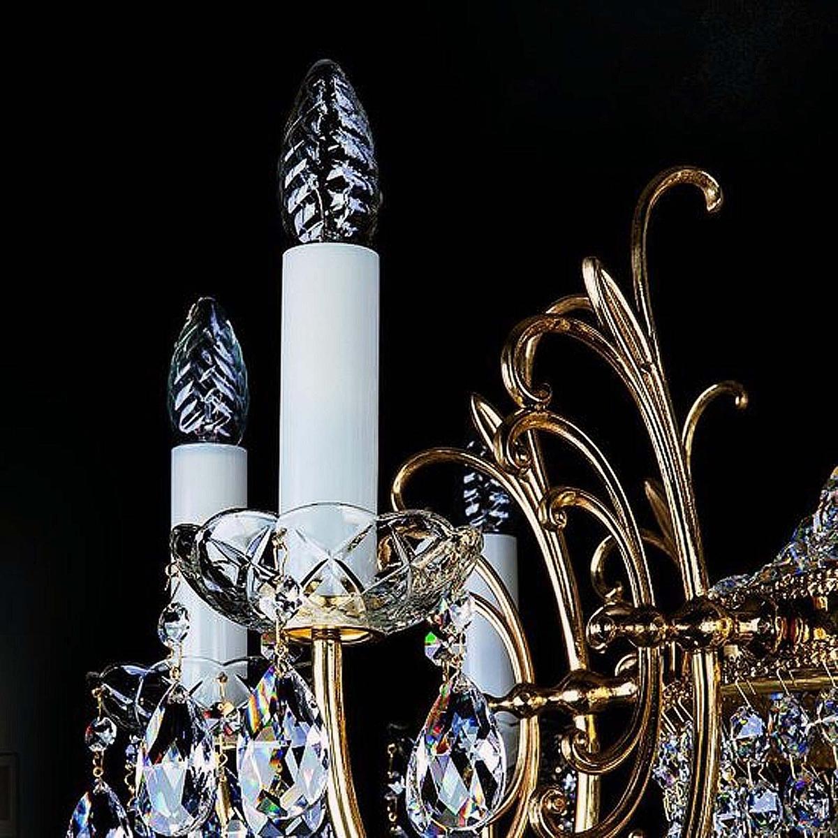 Kristallwandleuchter HILLARY 390x600 WL