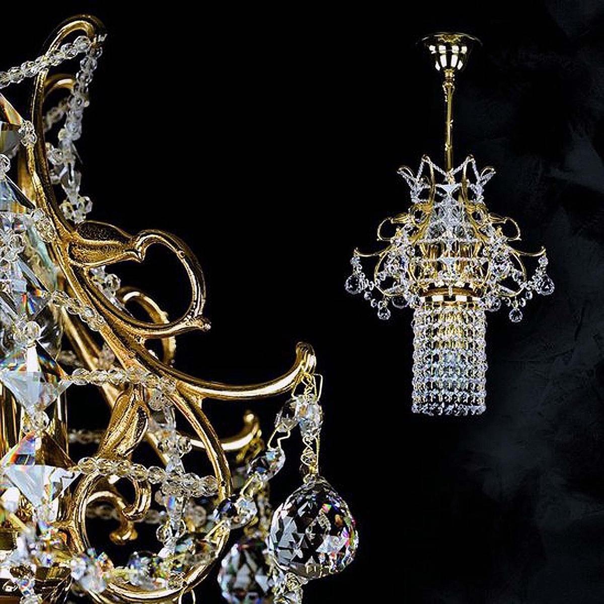 Crystal lamp KLEOPATRA