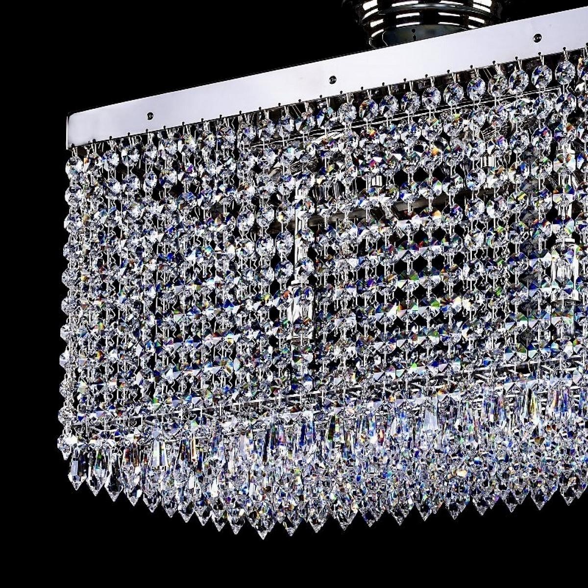 Lampe moderne LEANDRA 250x450 nickel 2