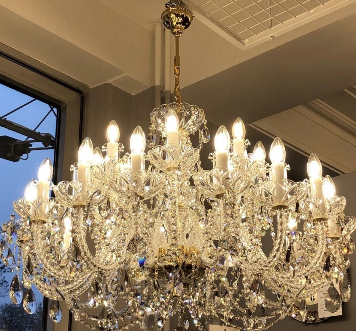 Crystal chandelier CAMERON XVIII