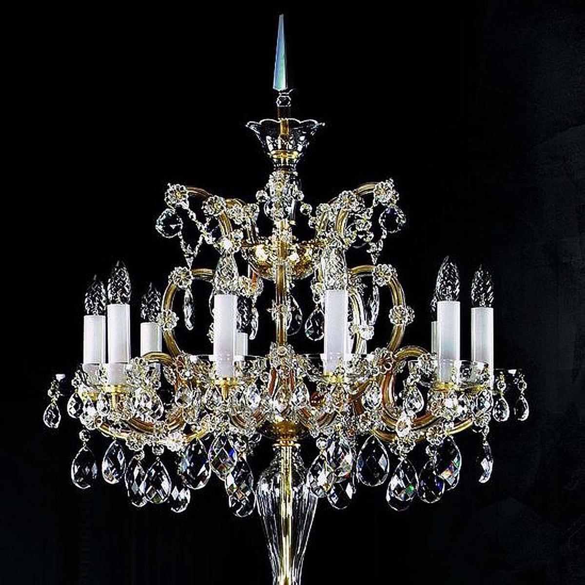 Lampadaire en cristal MARIA TEREZIA 16 FL