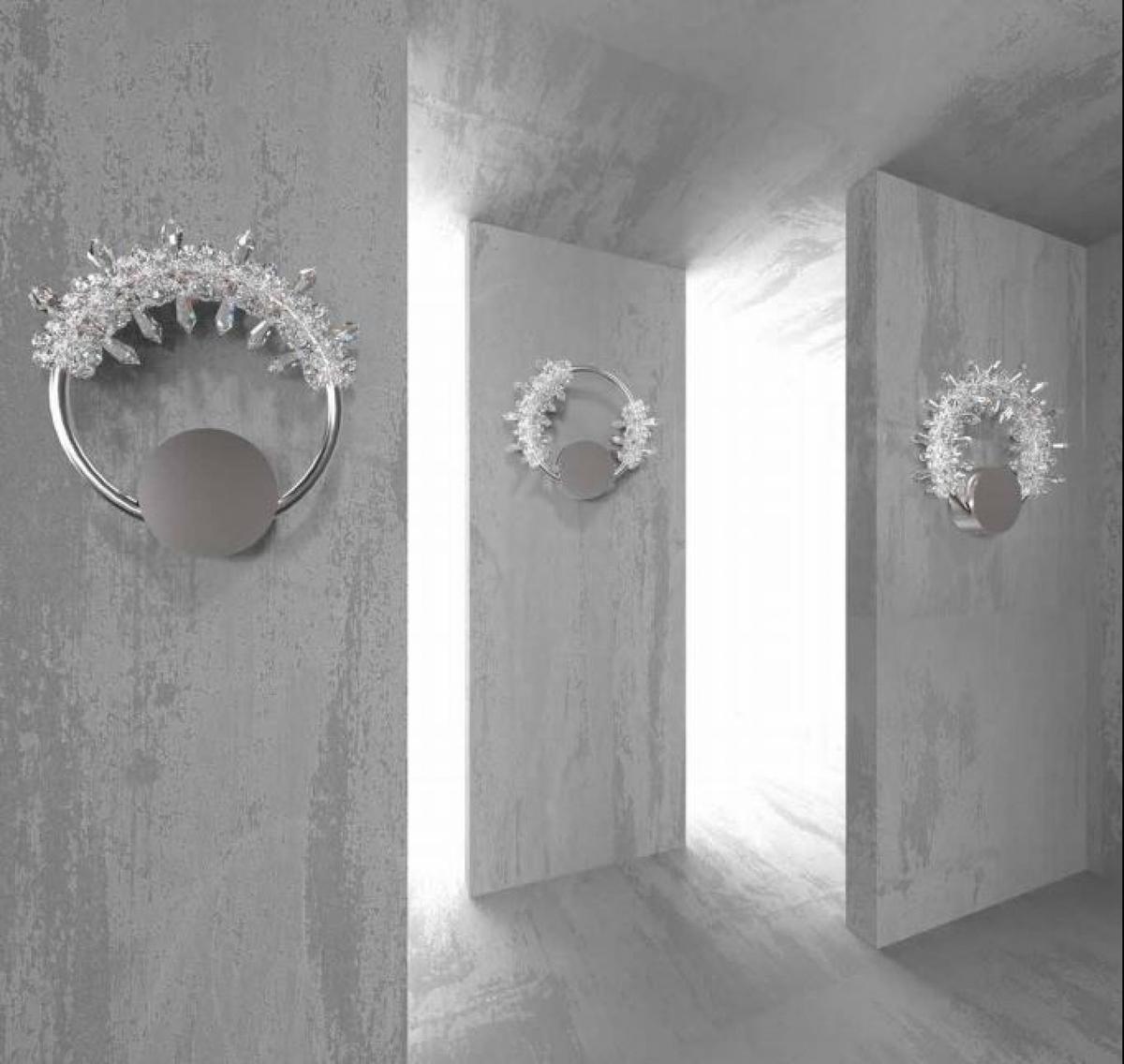 Сверкающий иней 01 (Настенные светильники) 3