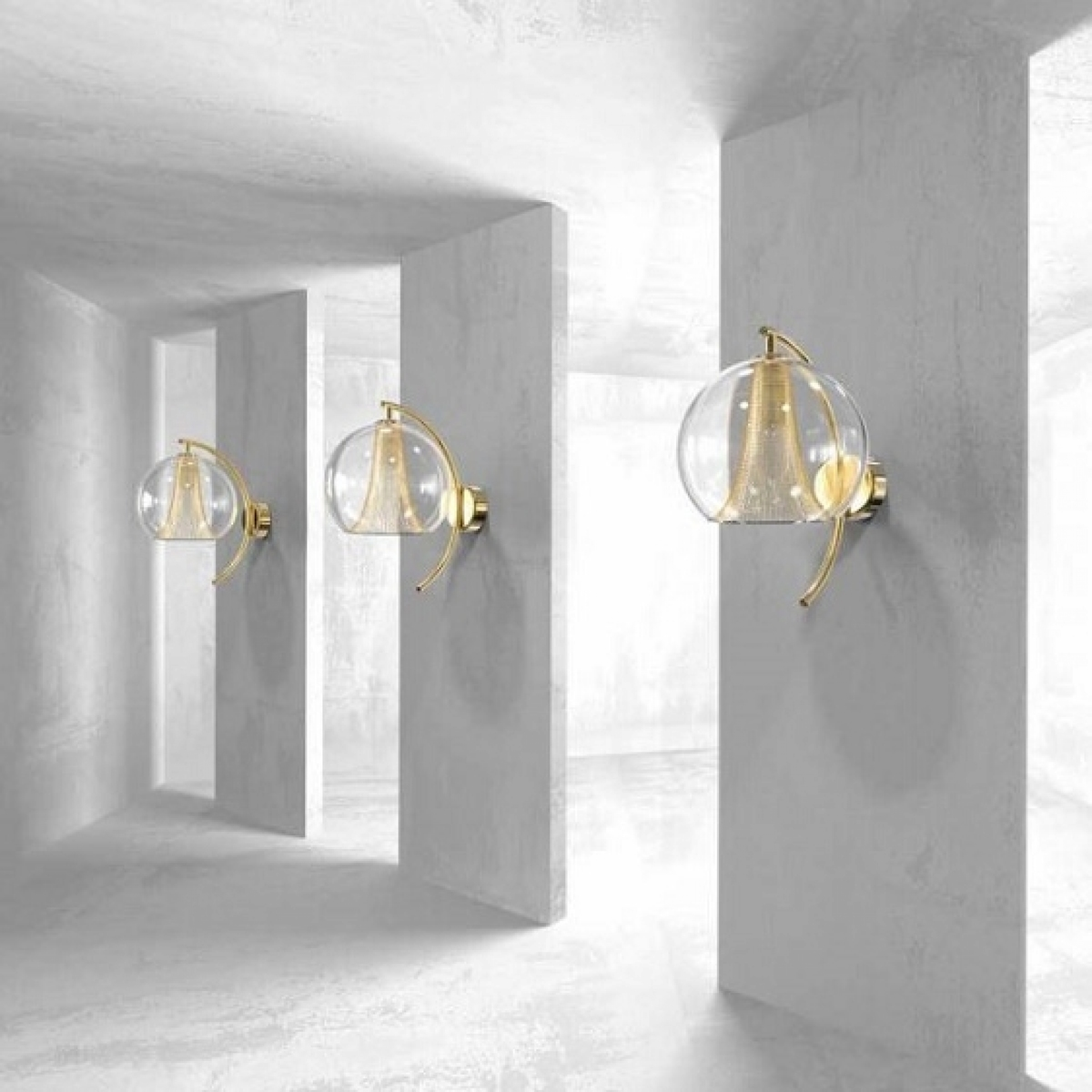 Wall lamp CALICEM 02 - WL
