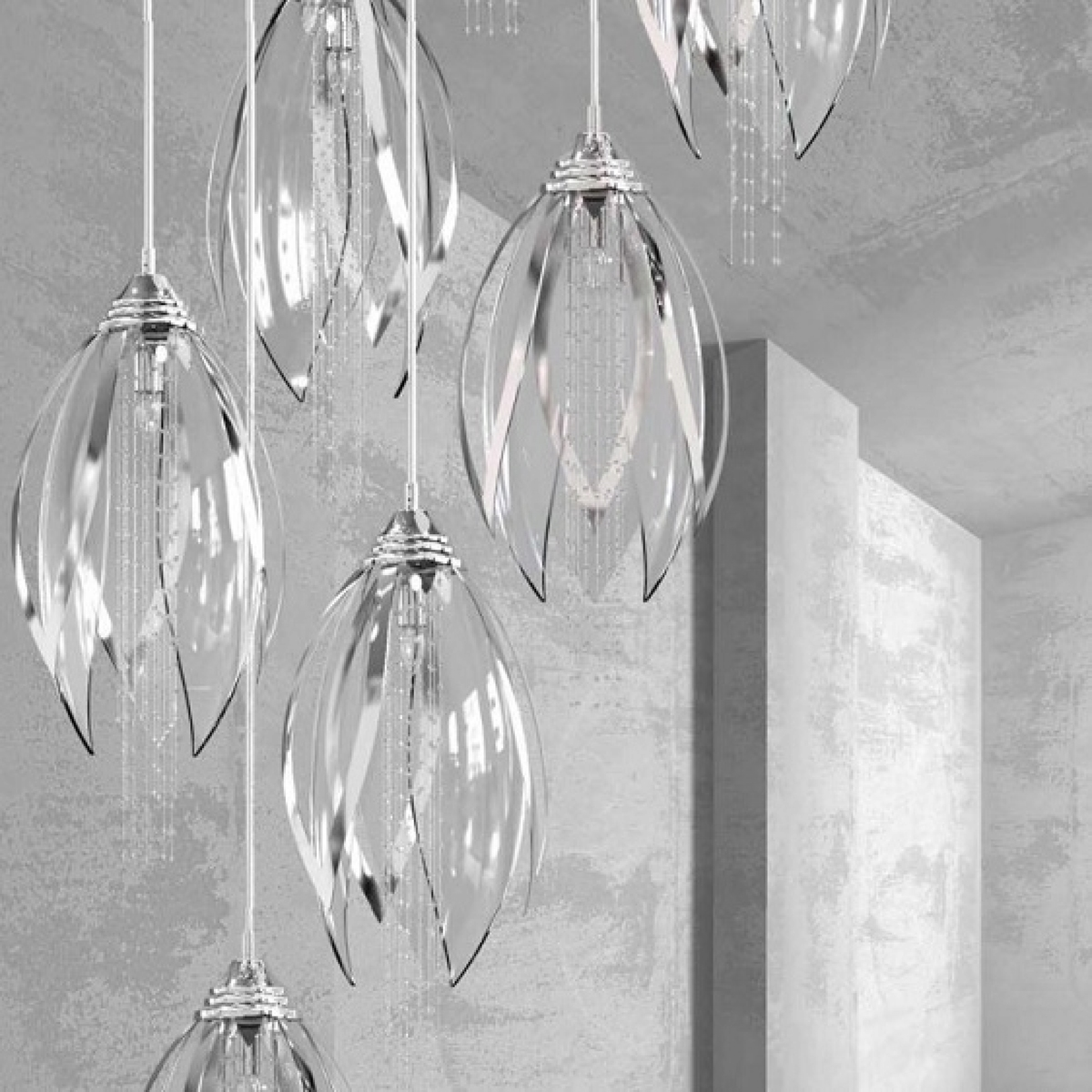 Chandelier SNOWFLOWER 01 – CH