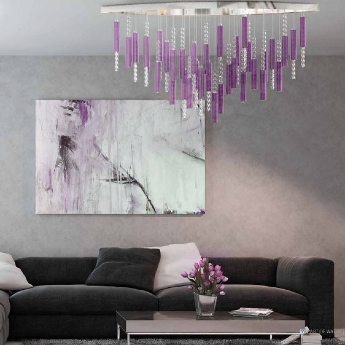Chandelier FLARE 03 A – CH