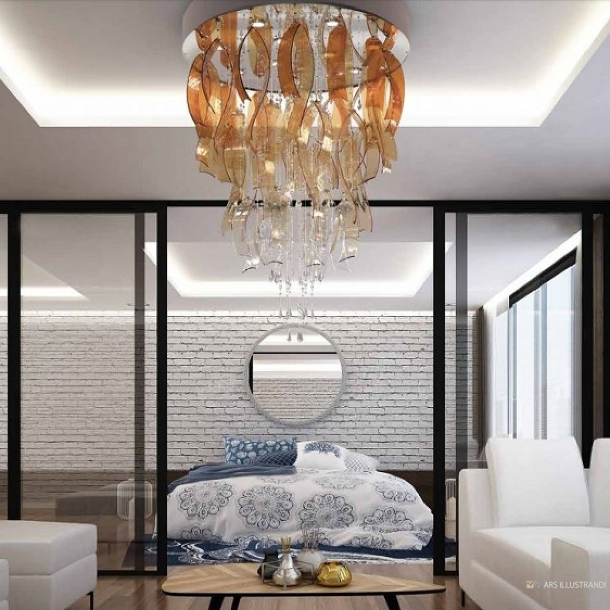 Lighting Fixture ICEFALL 01 – I