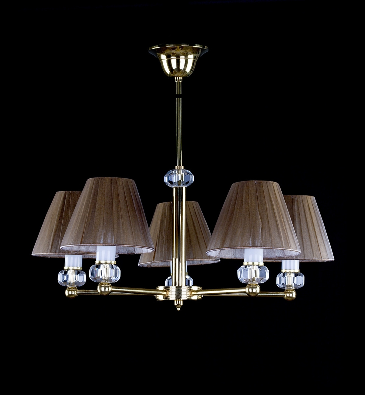 Lamp DIAMOND 01-CH-PB-CH 024. Brown