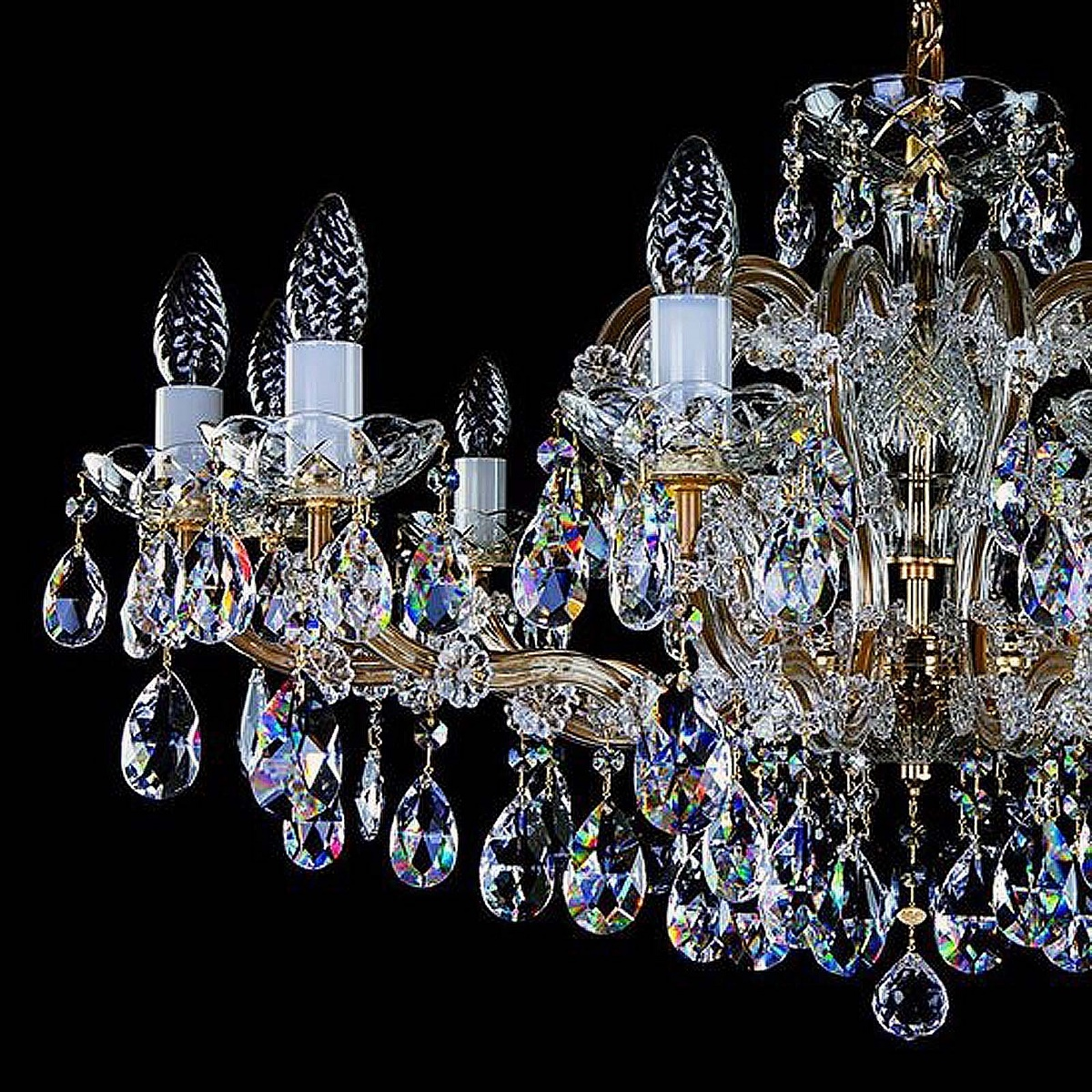 Crystal chandelier MARIA TEREZIA 24