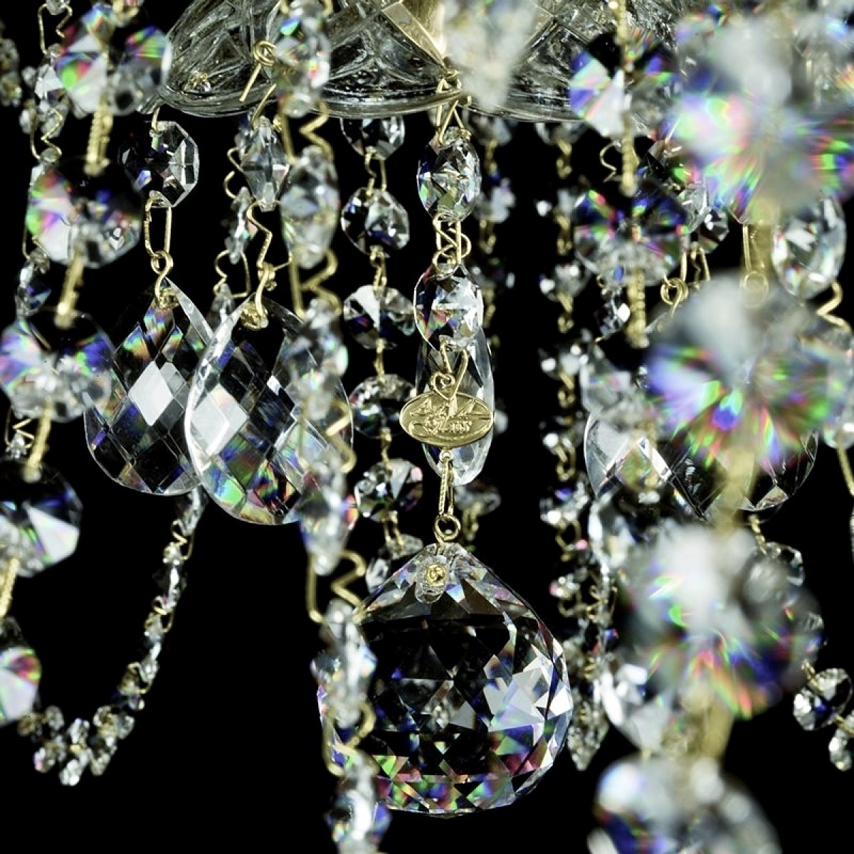 Large crystal chandelier ANDULA dia. 1000