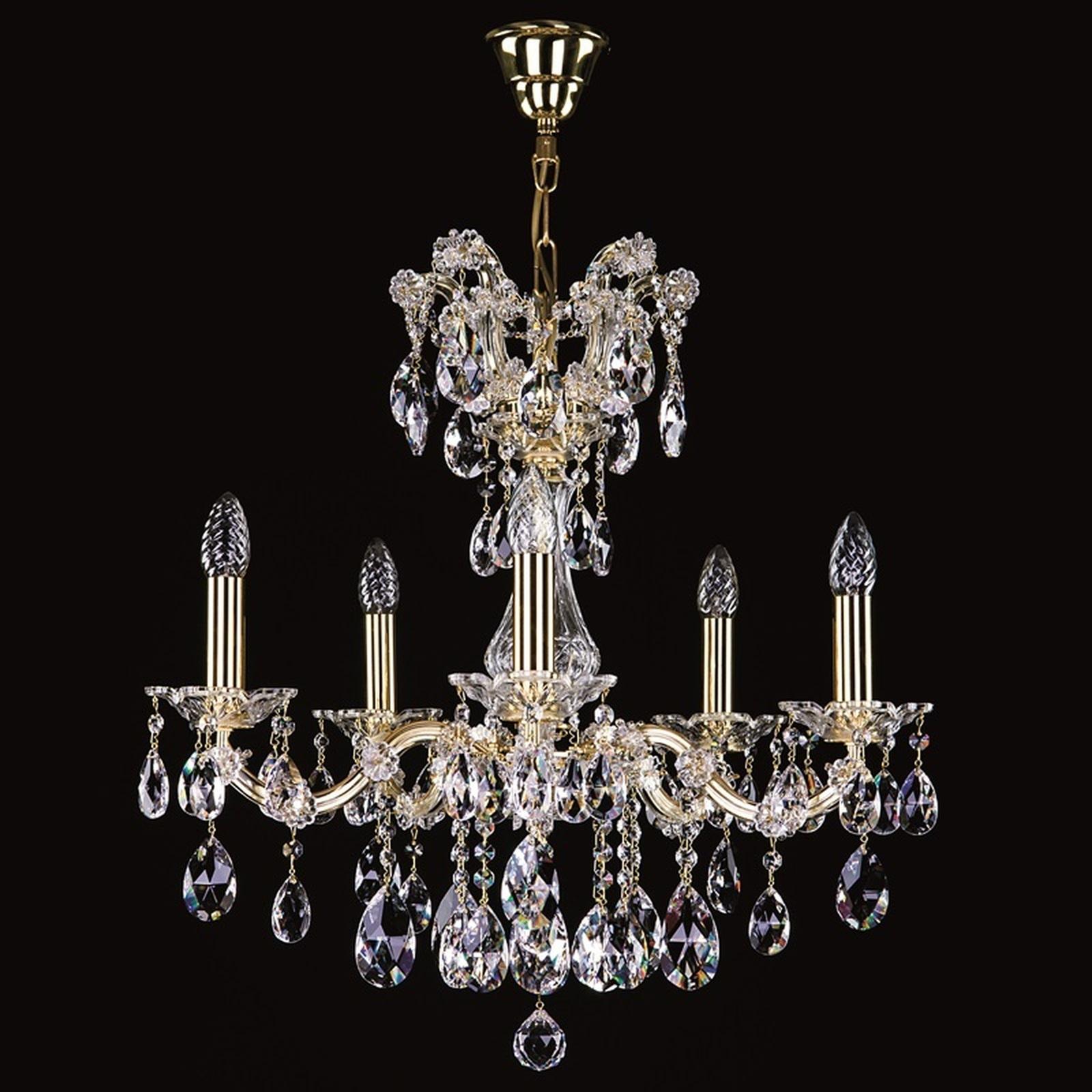 kristalll ster maria terezia 34 leuchten und lampen in. Black Bedroom Furniture Sets. Home Design Ideas
