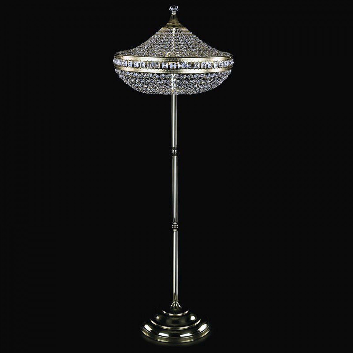 Crystal floor lamp LILY FL