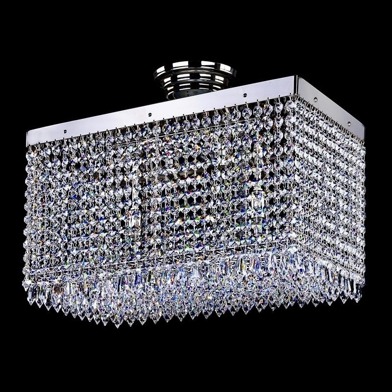 Lampe moderne LEANDRA 250x450 nickel