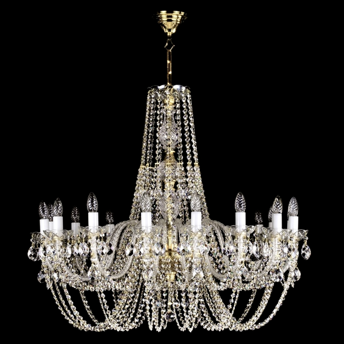 dsc crystals of id tiers l crystal italian staggered f large five venini are chandelier by modern pendant lighting furniture chandeliers italy camer there lights