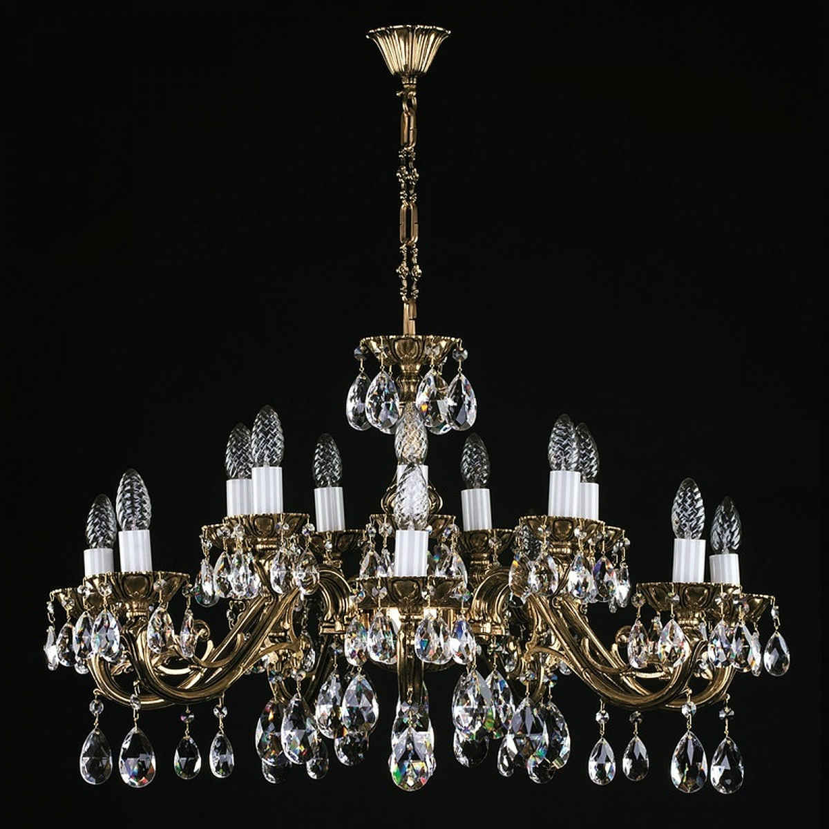 VIKTORIE XVI. brass antique