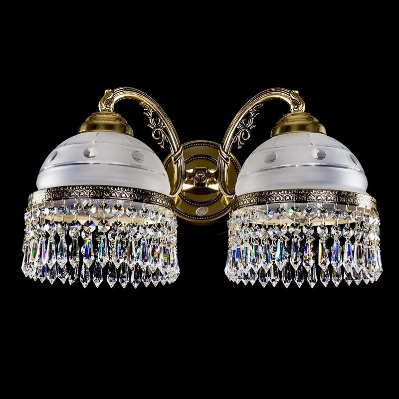 Латунное бра KARAT II. brass antique