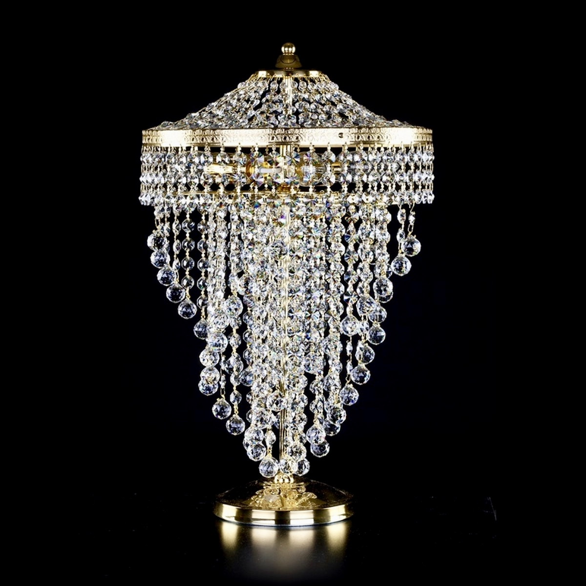 Crystal table lamp WENDY TL