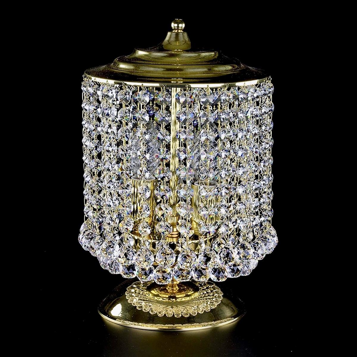 Crystal table lamp MARRYLIN II. TL