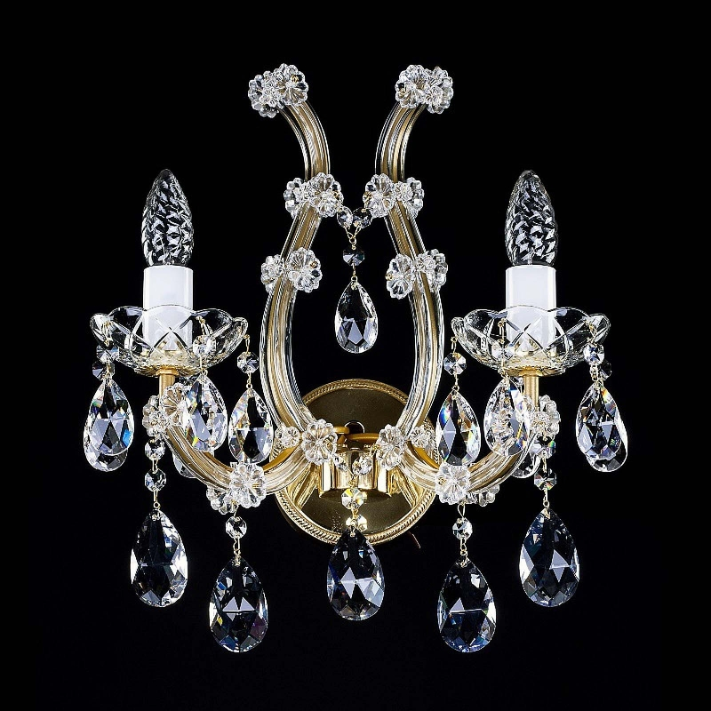 Crystal wall-mounted fixture MARIA TEREZIA 31 WL