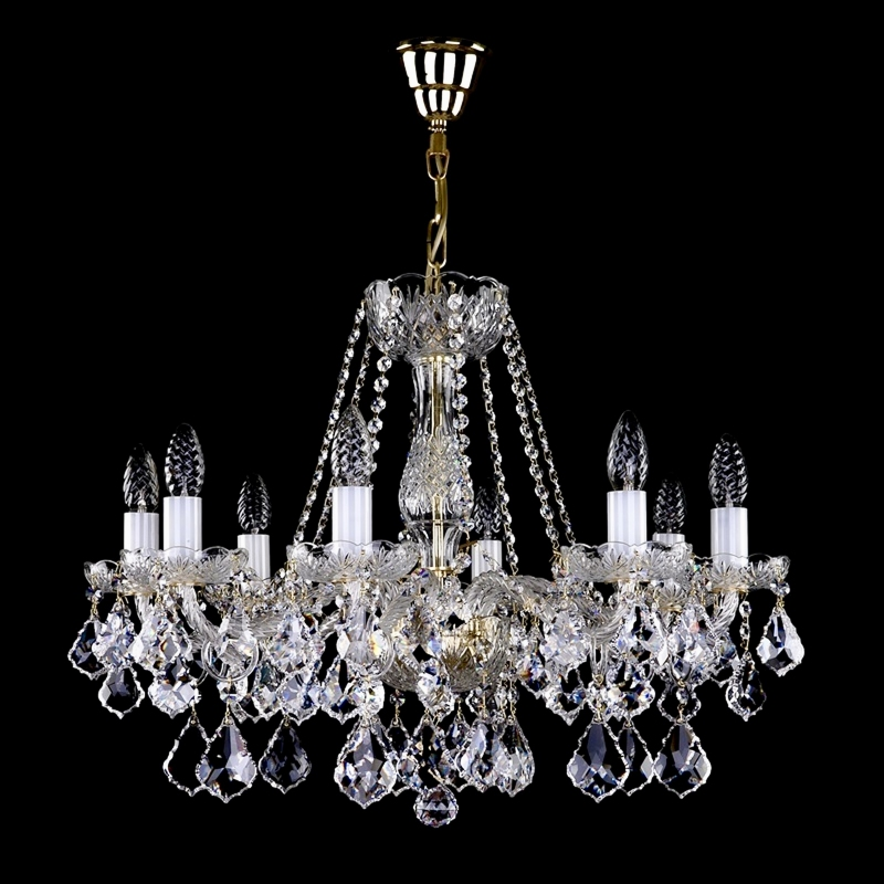Crystal chandeliers and lighting with glass arms buy online aerope viii aloadofball Gallery