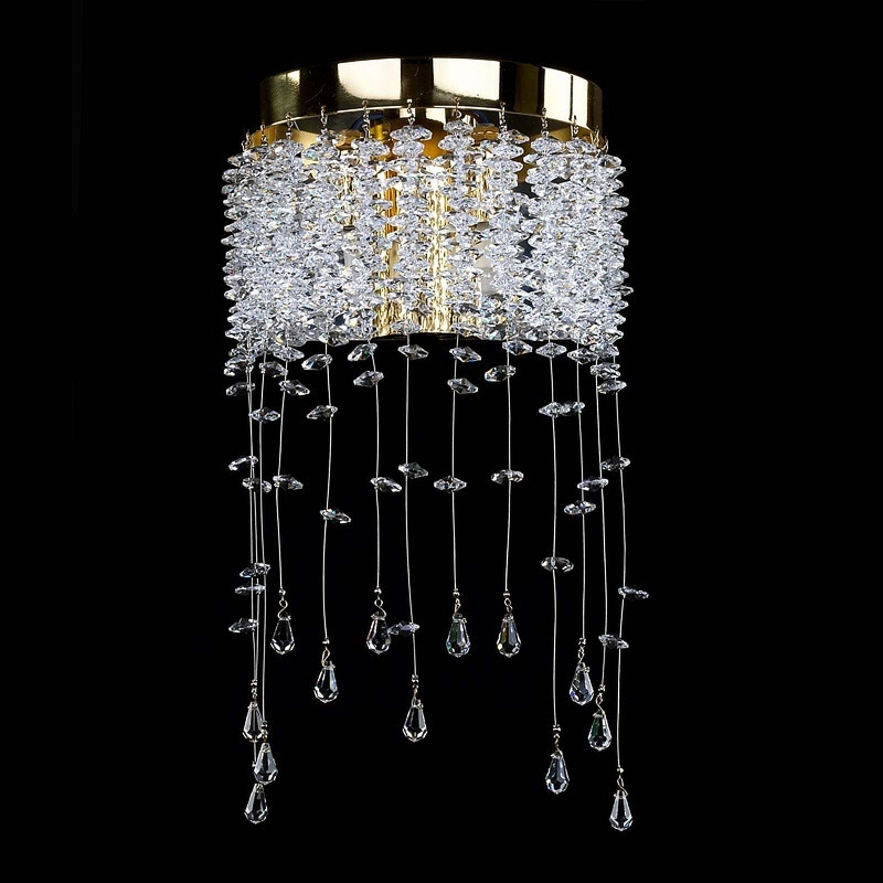 Crystal wall-mounted lighting fixture MEDEA WL