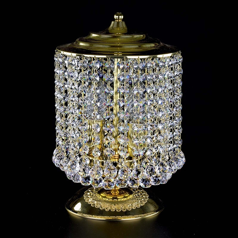 Crystal table lamp MARRYLIN II. TL