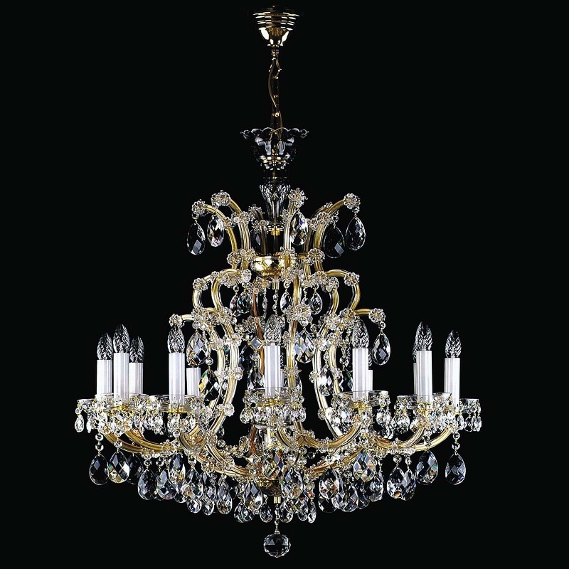 Crystal chandelier MARIA TEREZIA 12