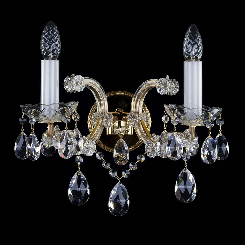 Crystal wall-mounted fixture MARIA TEREZIA 30 WL