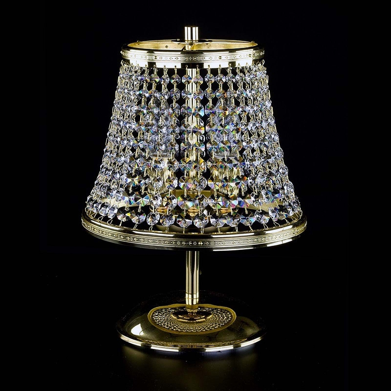 Crystal table lamp KLOTYLDA dia. 250 TL