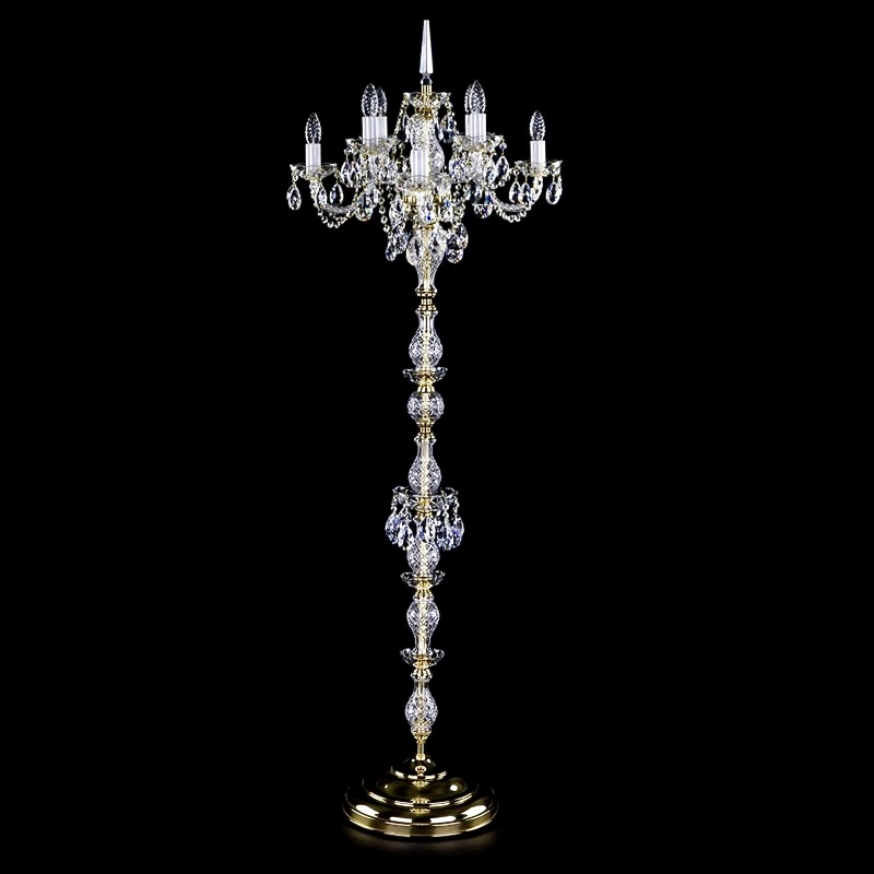 Crystal floor lamp INKA FL