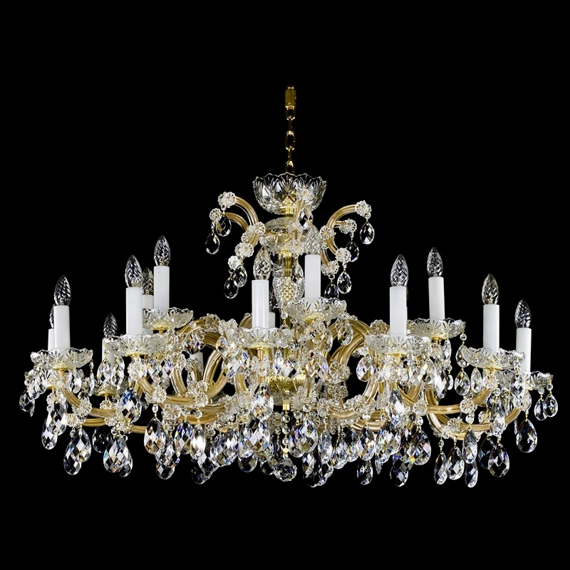 Large Crystal Chandelier MARIA TEREZIA 17