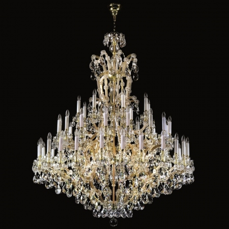 Un luminaire de cristal Maria Terezia 19
