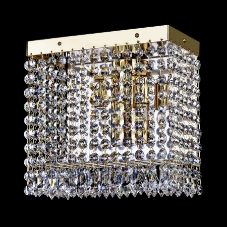 Crystal wall-mounted lighting fixture FIDELIE 220x220 WL