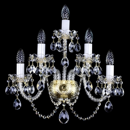 Crystal wall-mounted lighting fixture  BERNARDETA V. WL