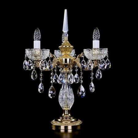 Латунная настольная лампа CR 0006-03-20 TL