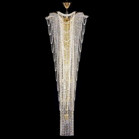 Большой хрустальный светильник MELANIE dia. 550x1500