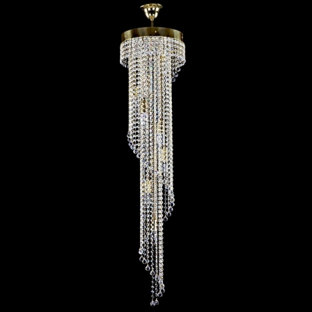 Lampe moderne cristal - SPIRAL 300x1200